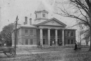 Third Courthouse Lamar County, Alabama 1910